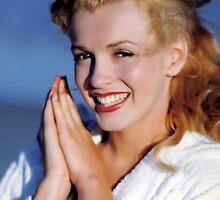 Marilyn Monroe iPhone Case by PineSinger