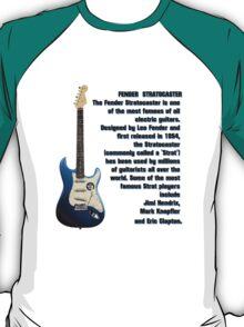 The Fender Stratocaster T-Shirt