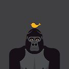 Grumpy Gorilla by Mark Walker