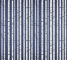 Birch wood pattern by Richard Laschon