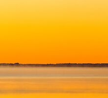 Sunrise at Baskin's Bay by Mike Bachman