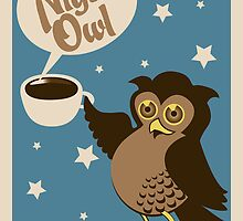 Night owl - have some coffee ! by schtroumpf2510