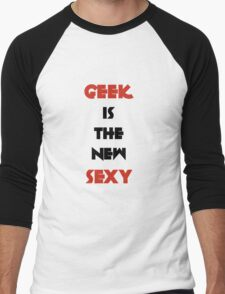 Geek is the New Sexy - Black&Red T-Shirt
