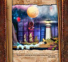The Curious Library Calendar - February by Aimee Stewart