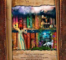 The Curious Library Calendar - June by Aimee Stewart