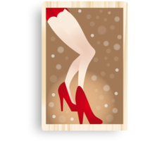 Les jambes - the legs (Poster) Canvas Print