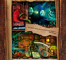 The Curious Library Calendar - July by Aimee Stewart