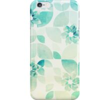 Flowers and Snowflakes iPhone Case/Skin