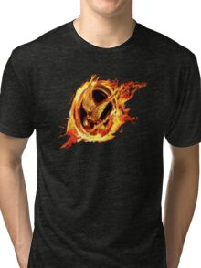 sinsajo Tri-blend T-Shirt