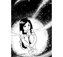 girl from outer space Photographic Print