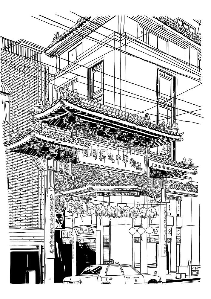 Nagasaki - China Town by parisiansamurai