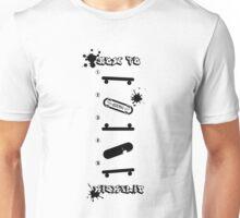Cool How to KickFlip Skateboarding guideline! Unisex T-Shirt
