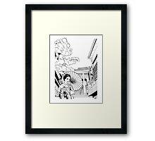 Enoshima - Kanagawa-ken Framed Print