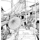 Kyoto - the old city by parisiansamurai