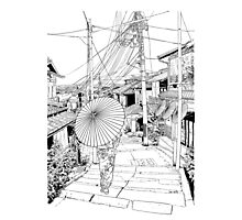 Kyoto - the old city Photographic Print