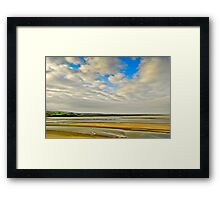 Sands at Portmeirion Framed Print