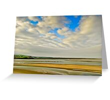 Sands at Portmeirion Greeting Card
