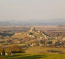 Autumn Days in Dorset - Corfe by Amar-Images