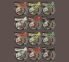 Folded Brompton Bicycle T-Shirt