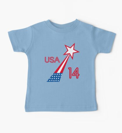 USA STAR Baby Tee