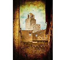 San Gimignano, Tuscany - Italy Photographic Print