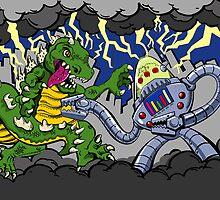 Battle of Monstrosity by markratzlaff