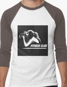 Fitness Emblem Men's Baseball ¾ T-Shirt