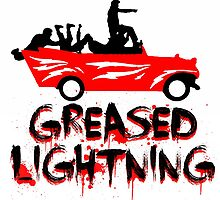 Greased Lightning  by justin13art