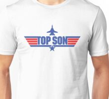 Custom Top Gun Style Style - Top Son Unisex T-Shirt