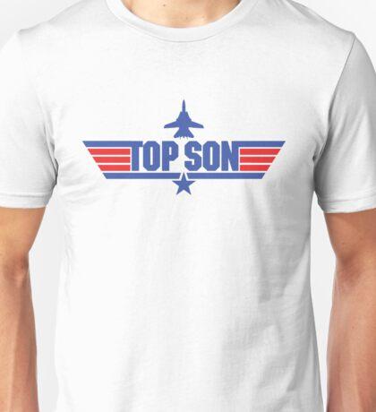 Custom Top Gun Style Style - Top Son Unisex T-Shirt