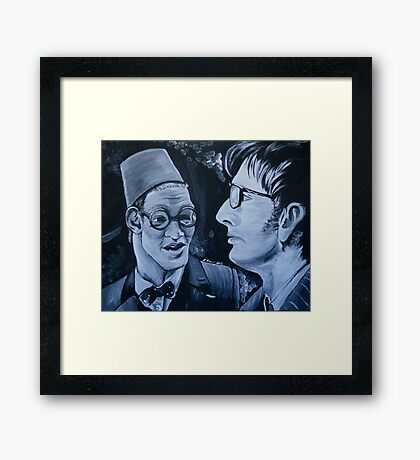 The Two Doctors Framed Print