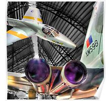 The Cold War - Cosford - HDR Poster