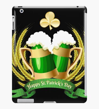 Green beer iPad Case/Skin