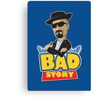Bad Story Canvas Print
