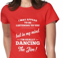 Dancing The Jive! Womens Fitted T-Shirt