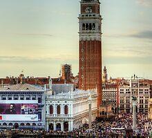 Campanile di San Marco by Tom Gomez