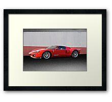 2011 Ford GT IV Framed Print