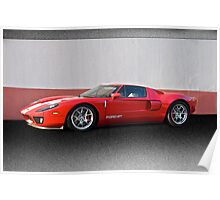 2011 Ford GT IV Poster