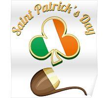 Saint Patricks Day Theme Poster