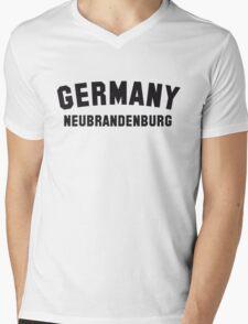 GERMANY NEUBRANDENBURG Mens V-Neck T-Shirt