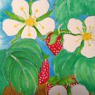 Strawberry Flower Essence by carol selchert