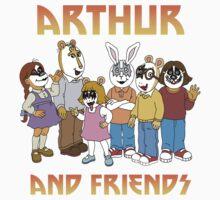KISS x Arthur by isteve51