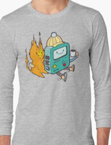 Nothing Burns Like the Cold Long Sleeve T-Shirt