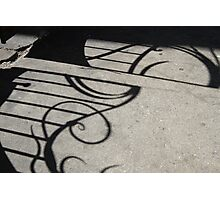 Curly Gate Shadow Photographic Print