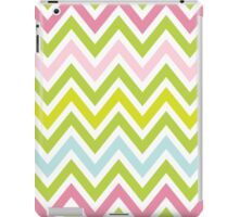 Chevrons, Zigzag Colorful Background iPad Case/Skin