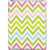 Chevrons, Zigzag Colorful Background iPad Case/Skin