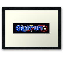 Quantum Arcade Framed Print