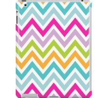 Chevrons, Zigzags Colorful Background iPad Case/Skin