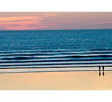 Sunset stroll Photographic Print
