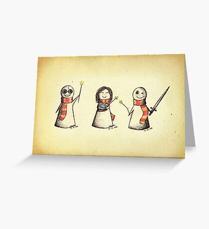 The Golden Trio Greeting Card